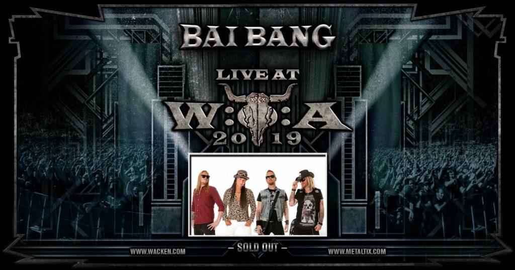 Bai Bang Wacken 2019